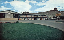 the Western Motel Postcard