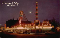 Night view of Nugget Casino