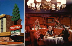 Ponderosa Hotel and Casino Postcard