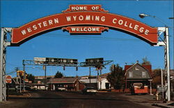 Western Wyoming Community College Postcard