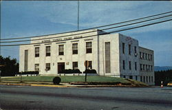 Pickens County Marble Court House Postcard