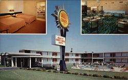 Quality Courts Motel South Postcard