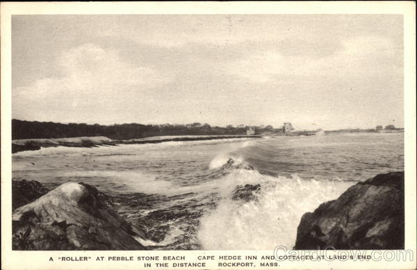 A Roller at Pebble Stone Beach - Cape Hedge Inn & Cottages at Land's End Rockport Massachusetts