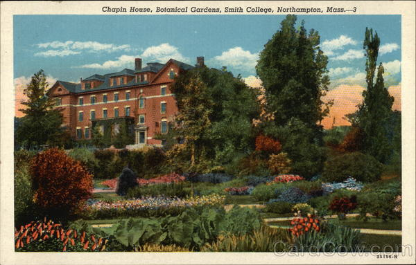 Smith College - Chapin House, Botanical Gardens Northampton Massachusetts