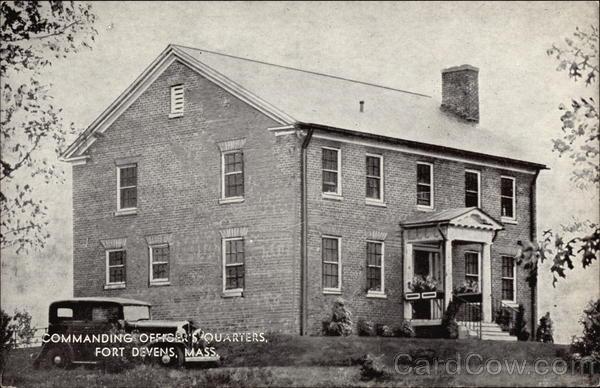 Commanding Officer's Quarters Fort Devens Massachusetts