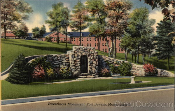 Sweetheart Monument Fort Devens Massachusetts