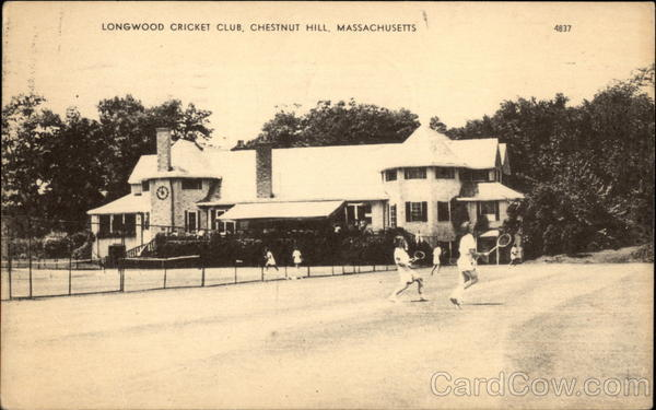 Longwood Cricket Club Chestnut Hill Massachusetts