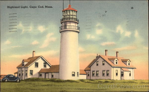 Highland Light Cape Cod Massachusetts