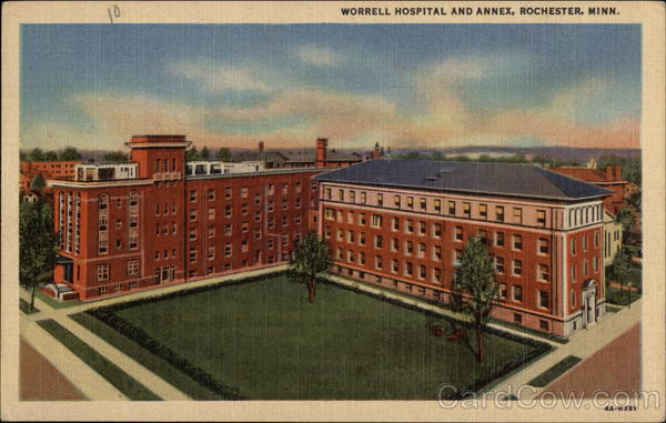 Worrell Hospital and Annex Rochester Minnesota