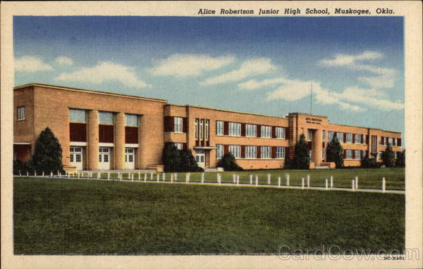 Alice Robertson Junior High School Muskogee Oklahoma