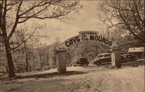 Entrance Cave of the Mounds Blue Mounds Wisconsin Diemer