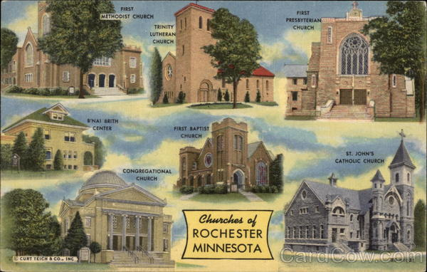 Churches of Rochester Minnesota
