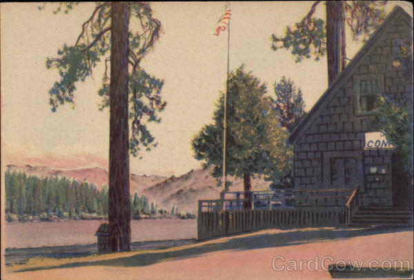 Hume Lake Conference - Administration Building California