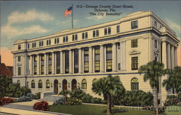 Orange County Court House Orlando Florida