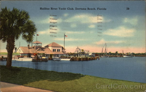 Halifax Yacht Club Daytona Beach Florida