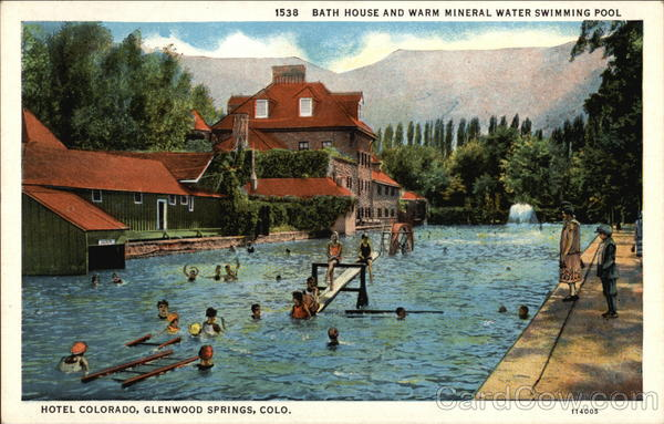 Bath House And Warm Mineral Water Swimming Pool Hotel Colorado