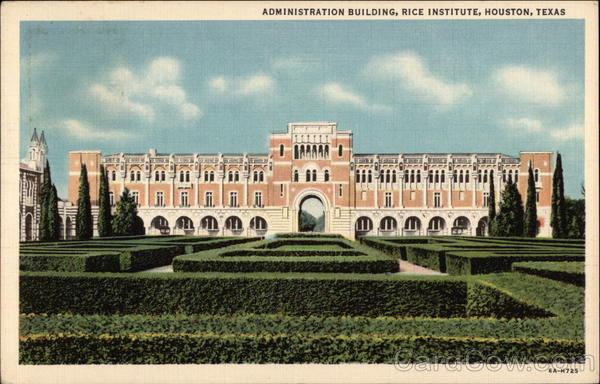 Administration Building, Rice Institute Houston Texas