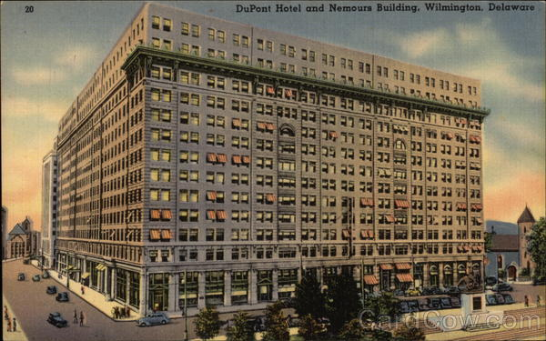 DuPont Hotel and Nemours Building Wilmington Delaware