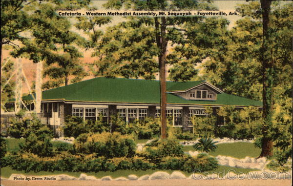 Western Mathodist Assembly, Mt. Sequoyah - The Cafeteria Fayetteville Arkansas