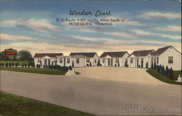 Windsor Court, U.S. Route #301 Petersburg Virginia