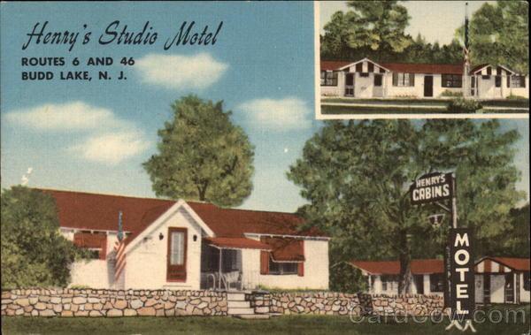 Henry's Studio Motel Budd Lake, NJ