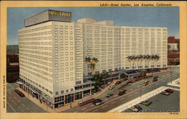 Hotel Statler Los Angeles California