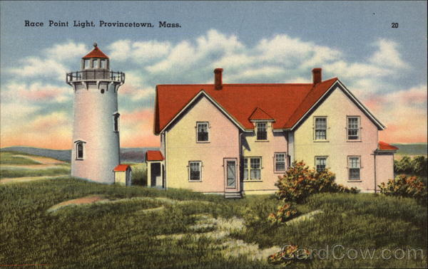 Race Point Lighthouse Provincetown Massachusetts