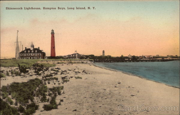 Shinnecock Lighthouse At Hampton Bays Long Island, NY
