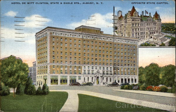 Hotel DeWitt Clinton Albany New York