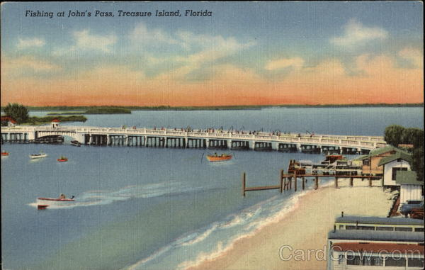 Fishing at john 39 s pass treasure island fl for Fishing treasure island florida