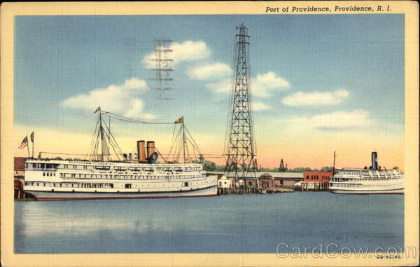 Port of Providence Rhode Island
