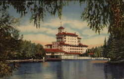 Vista of the Broadmoor Hotel from the Lake