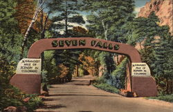 Gateway at Entrance of South Cheyenne Canon