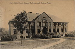 Mount Holyoke College - Music Hall