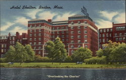 Overlooking the Charles Hotel Shelton