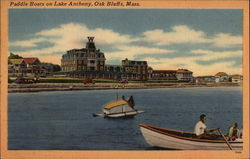 Paddle Boats on Lake Anthony