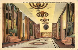 The Orchestra Promenade, Municipal Auditorium