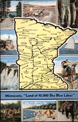 Land of 10,000 Sky Blue Lakes