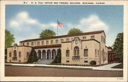 U.S. Post Office and Federal Building Postcard
