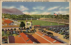 Victor McLaglen Sports Center, near Griffith Park Postcard