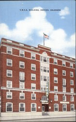 YWCA Building Postcard