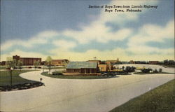 Section of Boys Town from Lincoln Highway