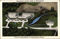 Aerial View of Bellemont Motor Hotel and Restaurant