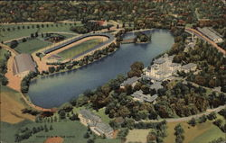 Broadmoor Hotel and Grounds from the Air