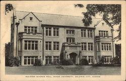 Mulvane Science Hall, Baker University