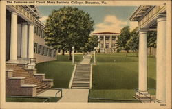 The Terraces and Court, Mary Baldwin College