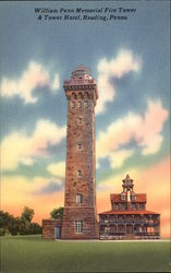 William Penn Memorial Fire Tower & Tower Hotel