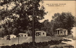 Some of the Cabins at The Dolloff Homestead