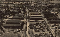 Aerial View of Cheney Bros. Silk Mills