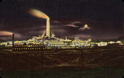 A. C. M. Co. Smelter at Night